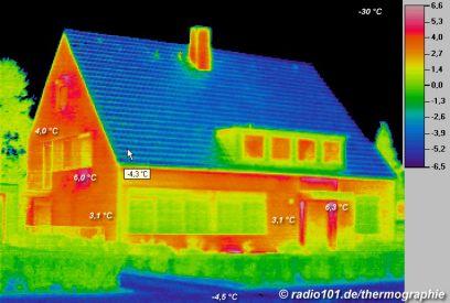 muurisolatie bedrijven kunnen een dergelijke thermische infrarood